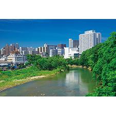 仙台市内を流れる広瀬川